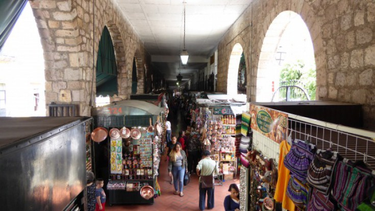 Market of Candy and Handicrafts Morelia